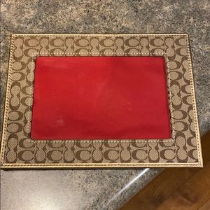 Coach 4x6 picture frame